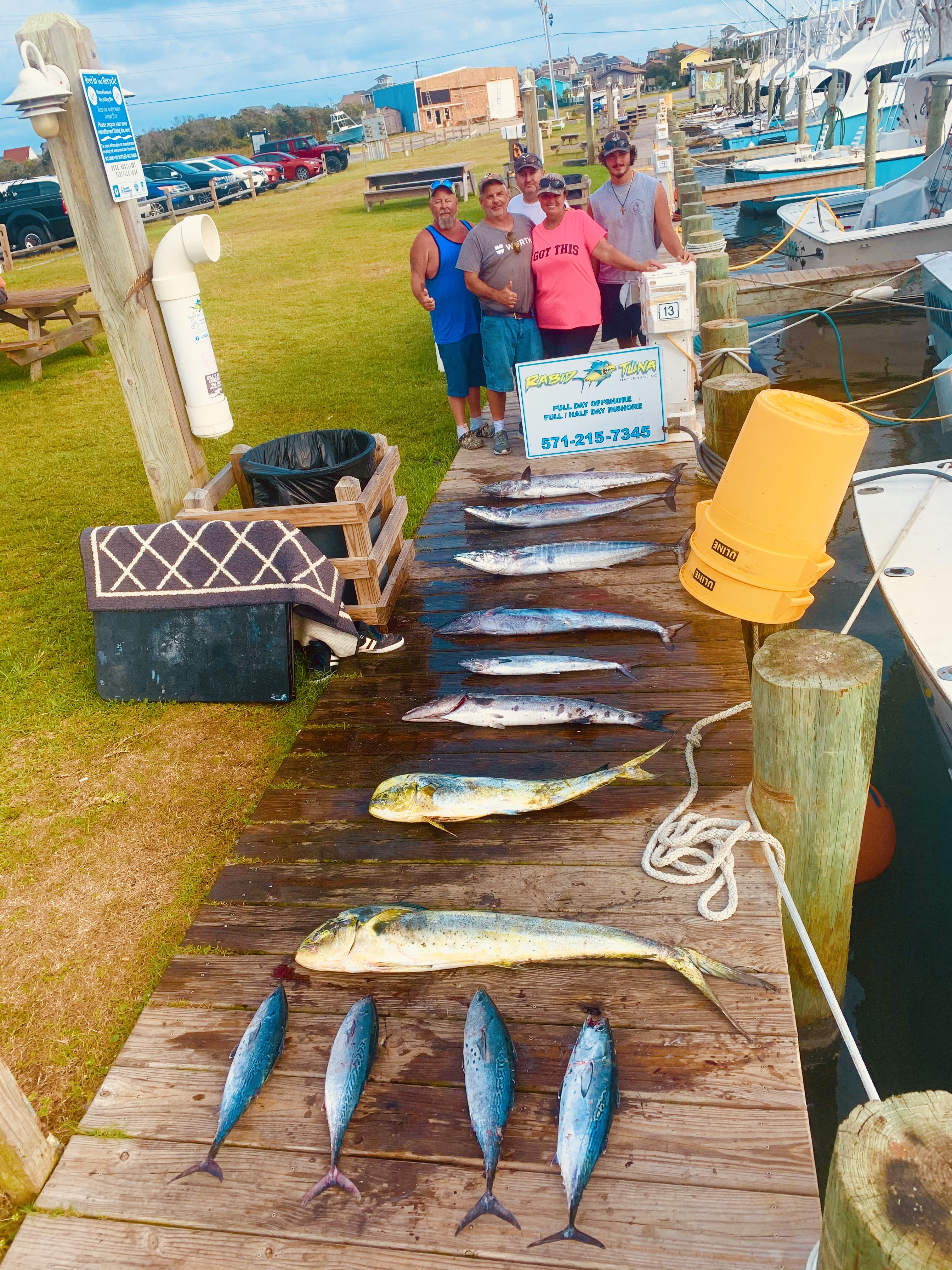 Rabid Tuna Charter Fishing Hatteras Teach's Lair Offshore