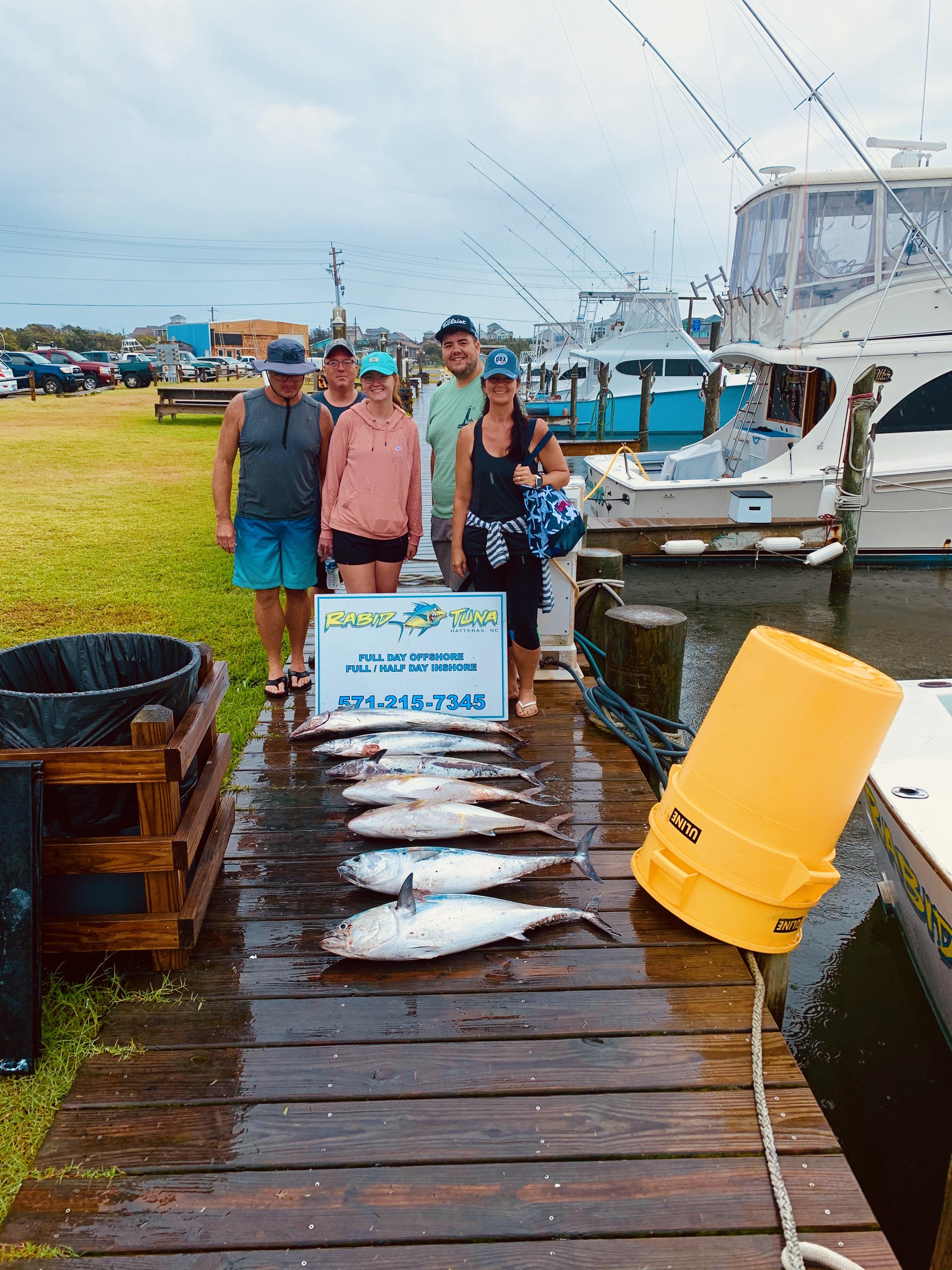 Hatteras Sportfishing Rabid Tuna Offshore Teach's Lair