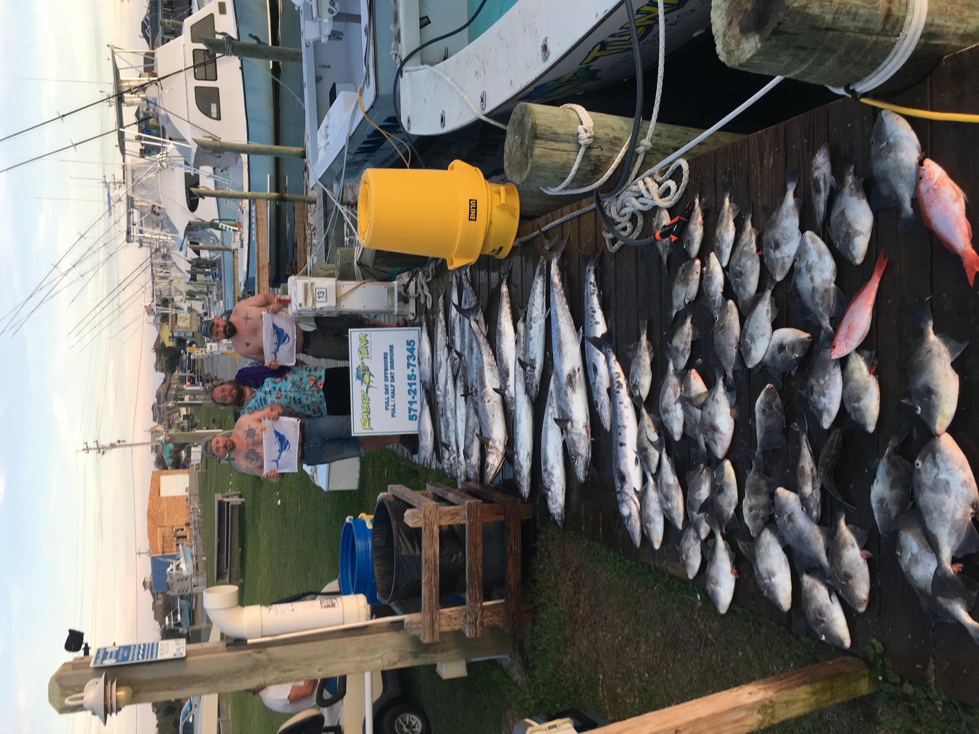Rabid Tuna Offshore Fishing Hatteras Teach's Lair