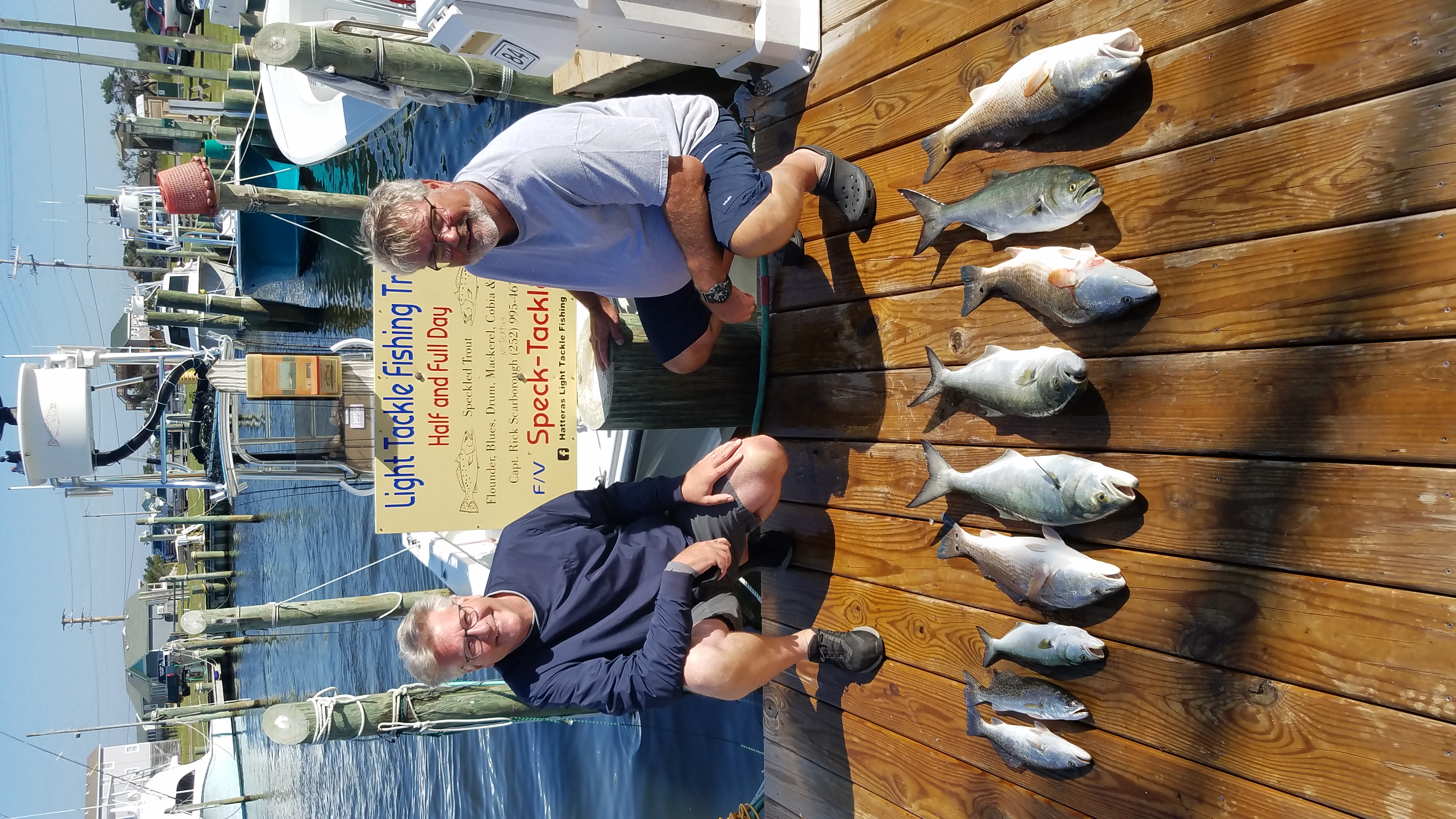 Speck-Tackler Fishing Teach's Lair Hatteras Inshore Charters
