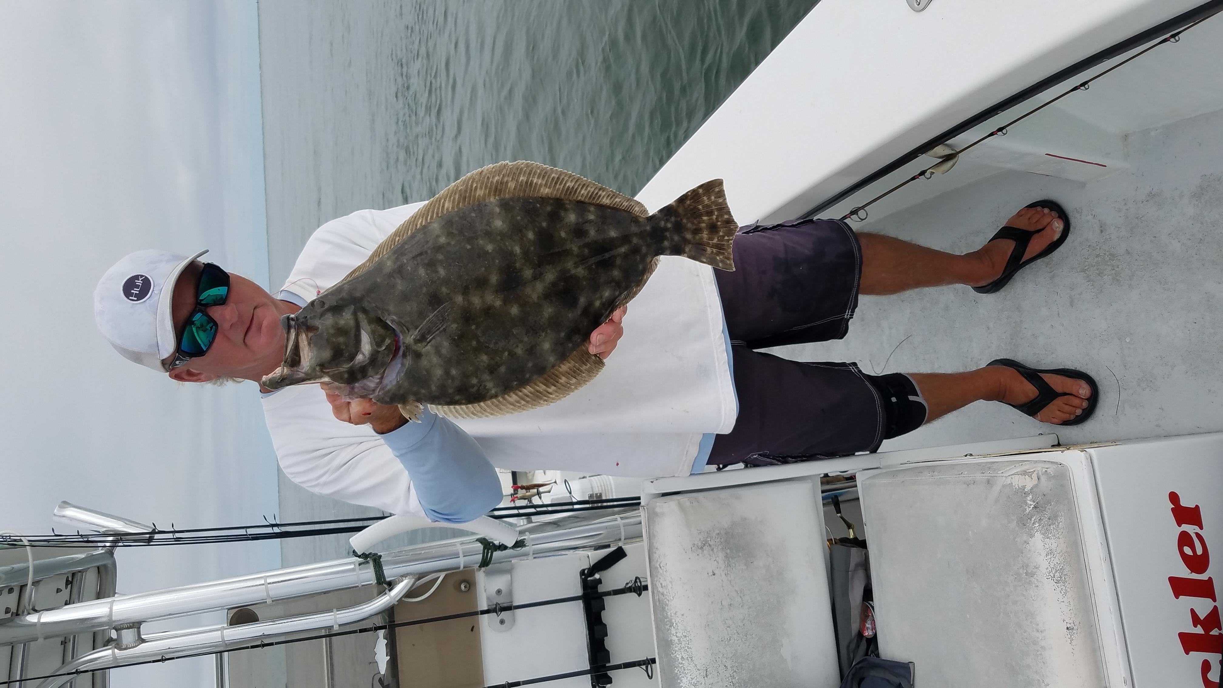 Speck-Tackler Fishing Flounder Release