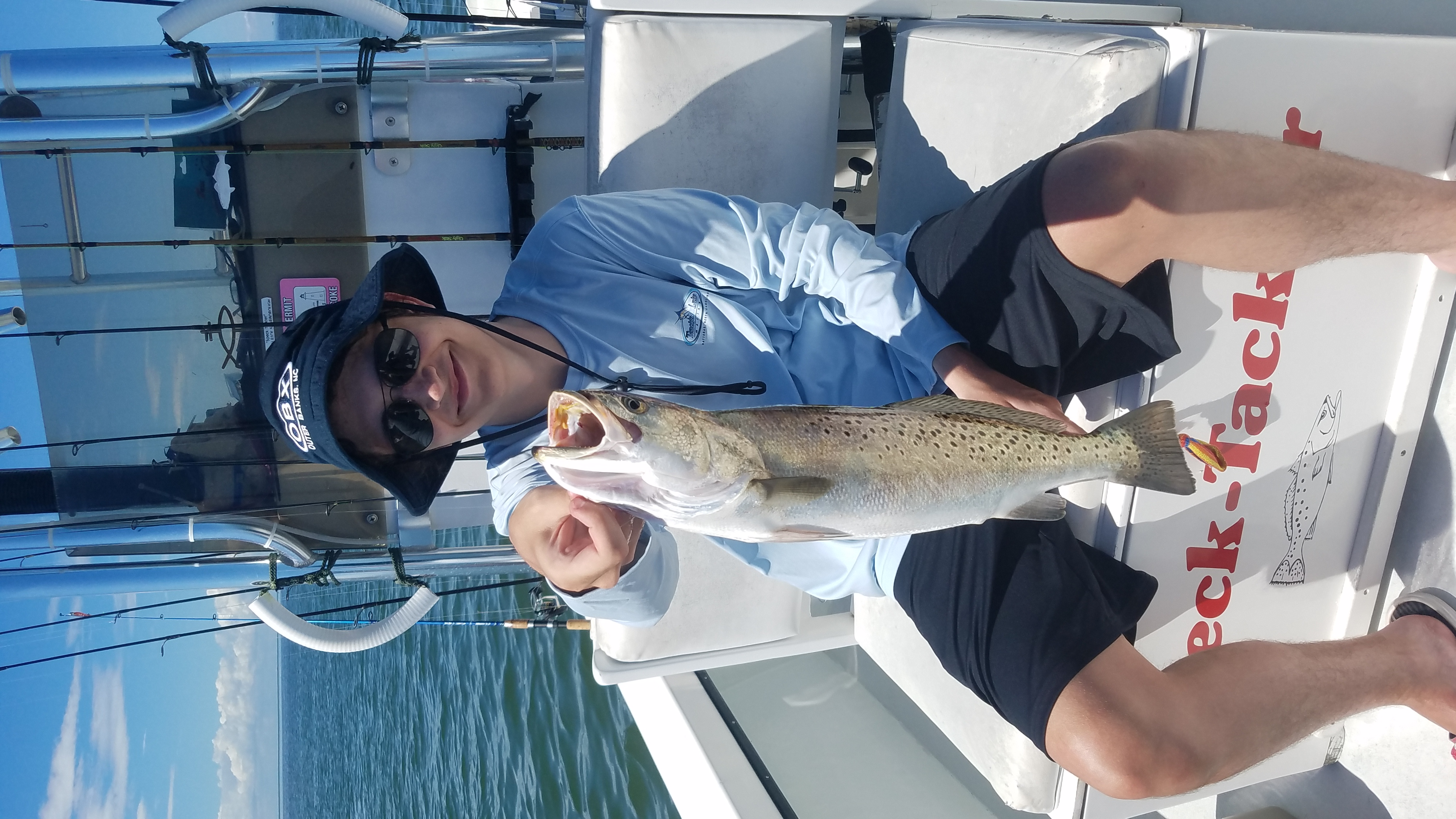Speck-Tackler Fishing Speckled Trout Teach's Lair
