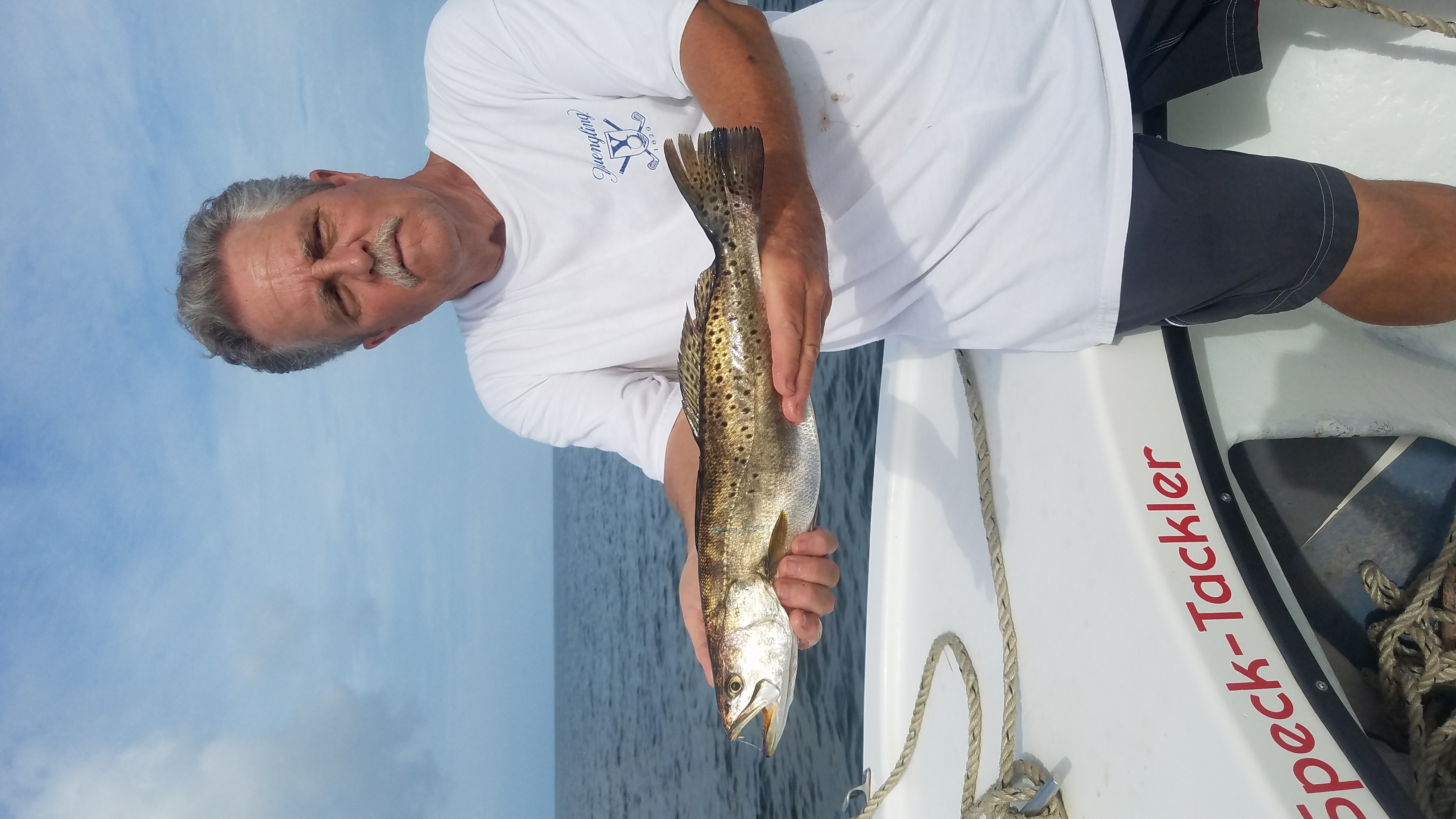 Hatteras Inshore Fishing Charters Teach's Lair Speck-Tackler