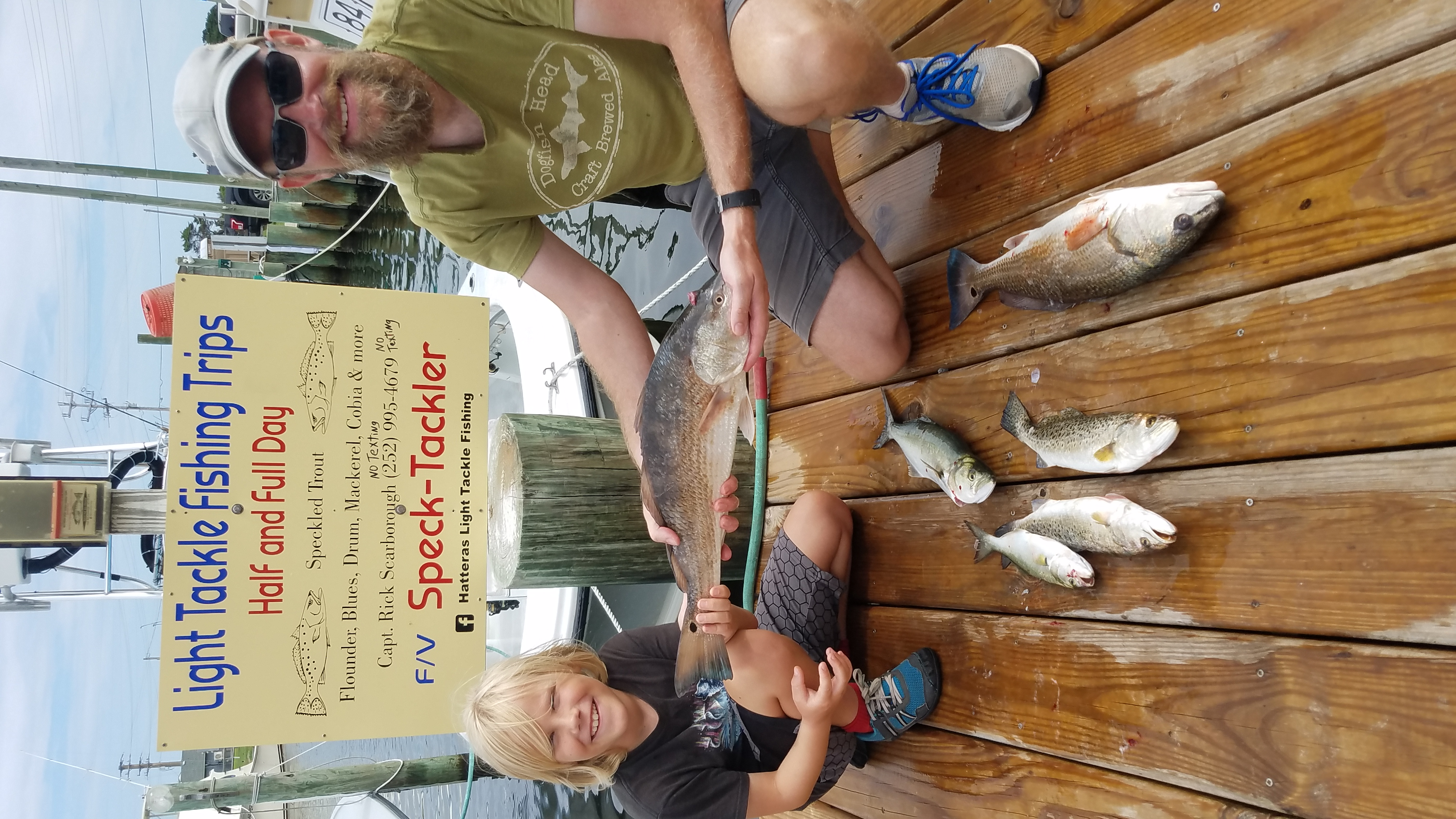 Speck-Tackler Fishing Charter Teach's Lair Fishing Inshore Sound
