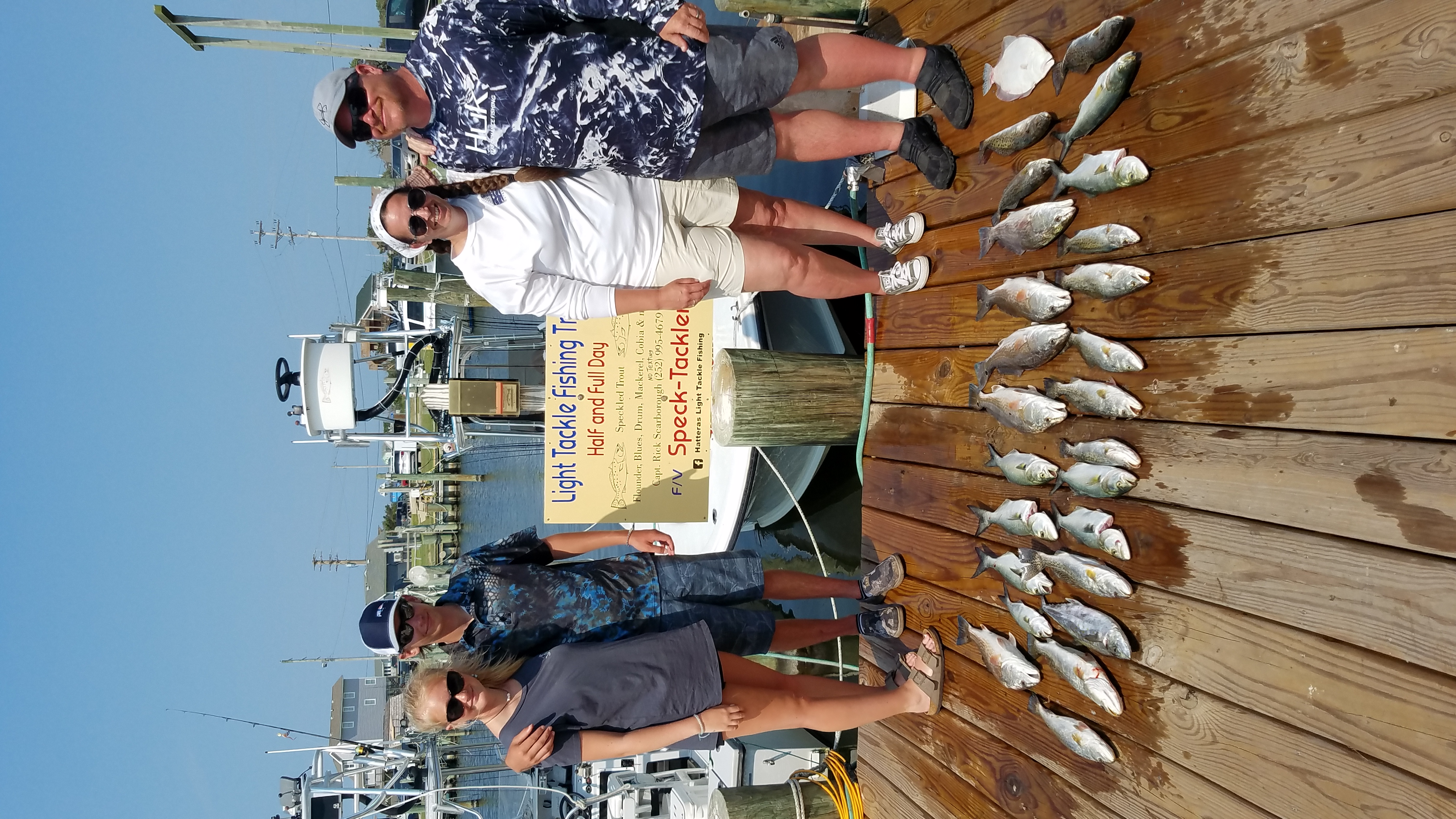 Hatteras Inshore Fishing Charters Teach's Lair Drum Speckled Trout