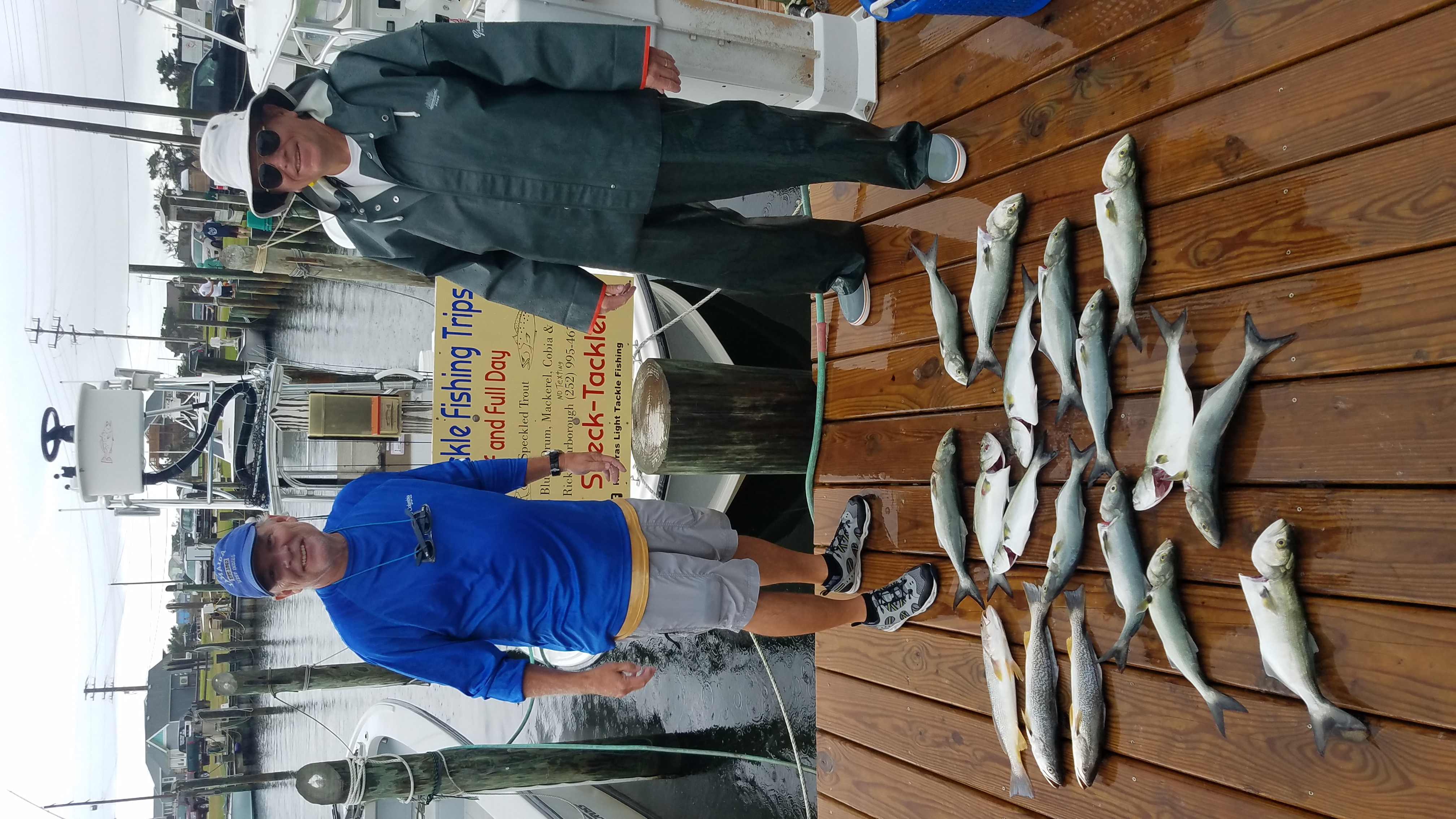 Speck-Tackler Fishing Speckled Trout Teach's Lair Inshore Charters