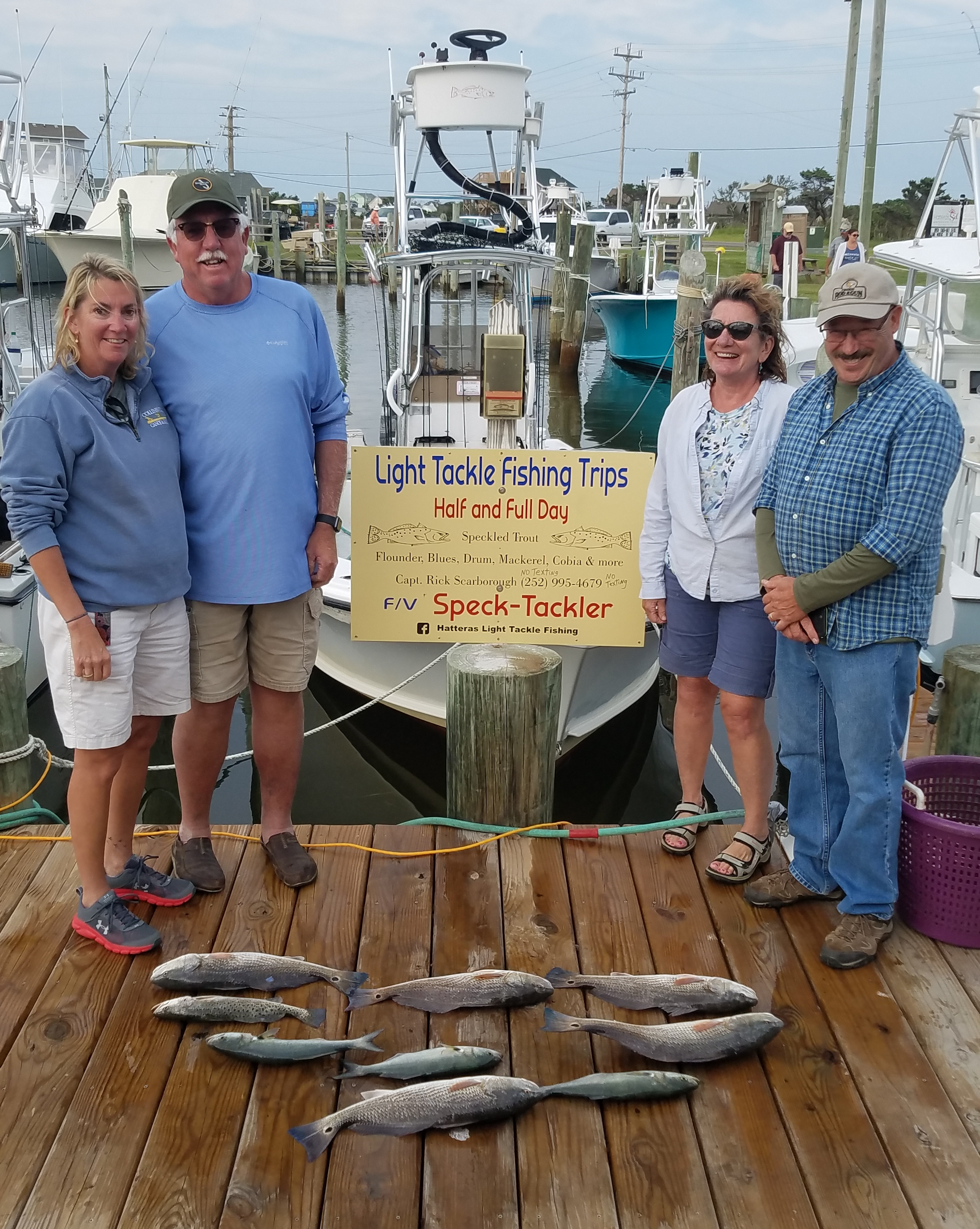 Hatteras Inshore Fishing Charters Teach's Lair 2020