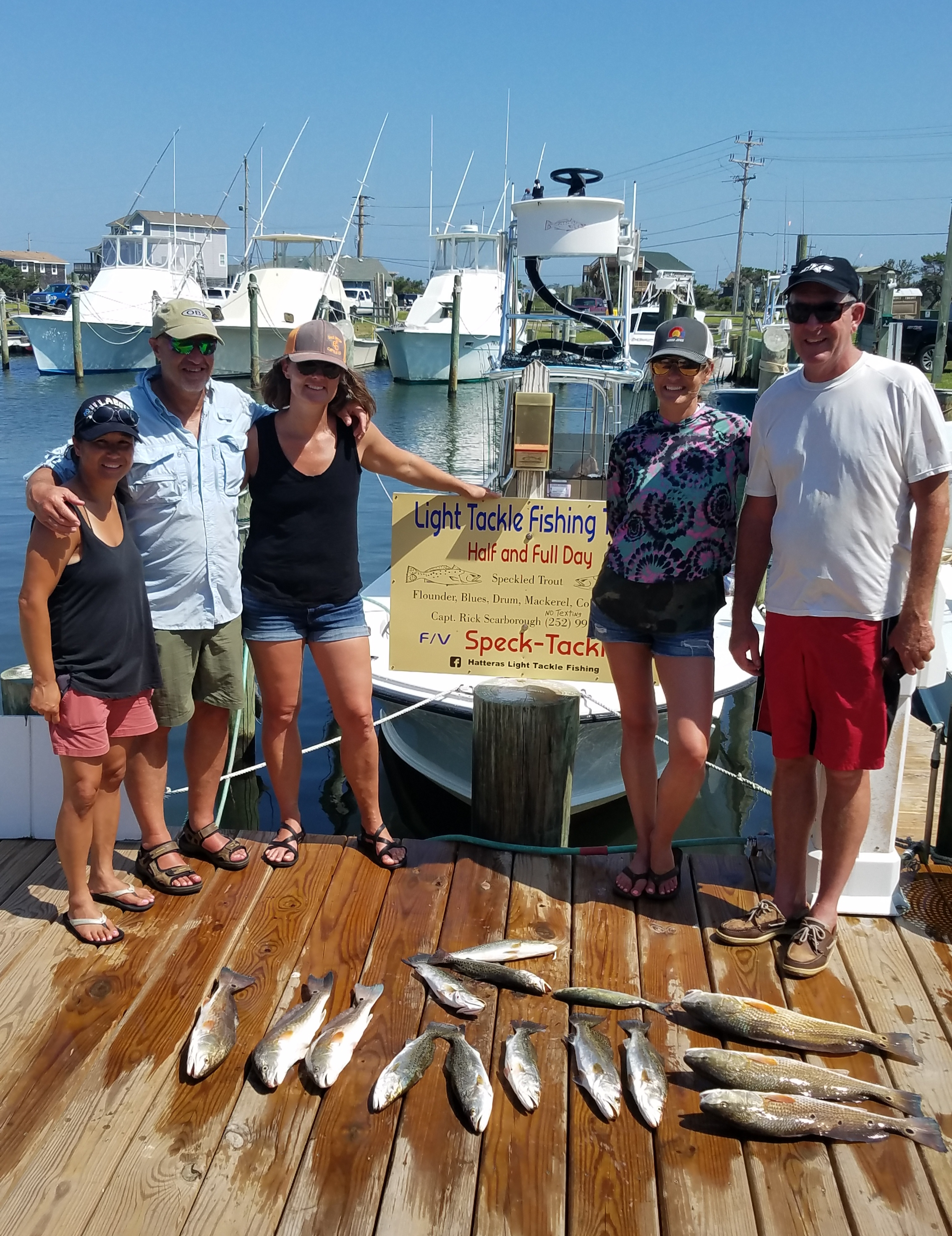 Speck-Tackler Teach's Lair Inshore Fishing Charters