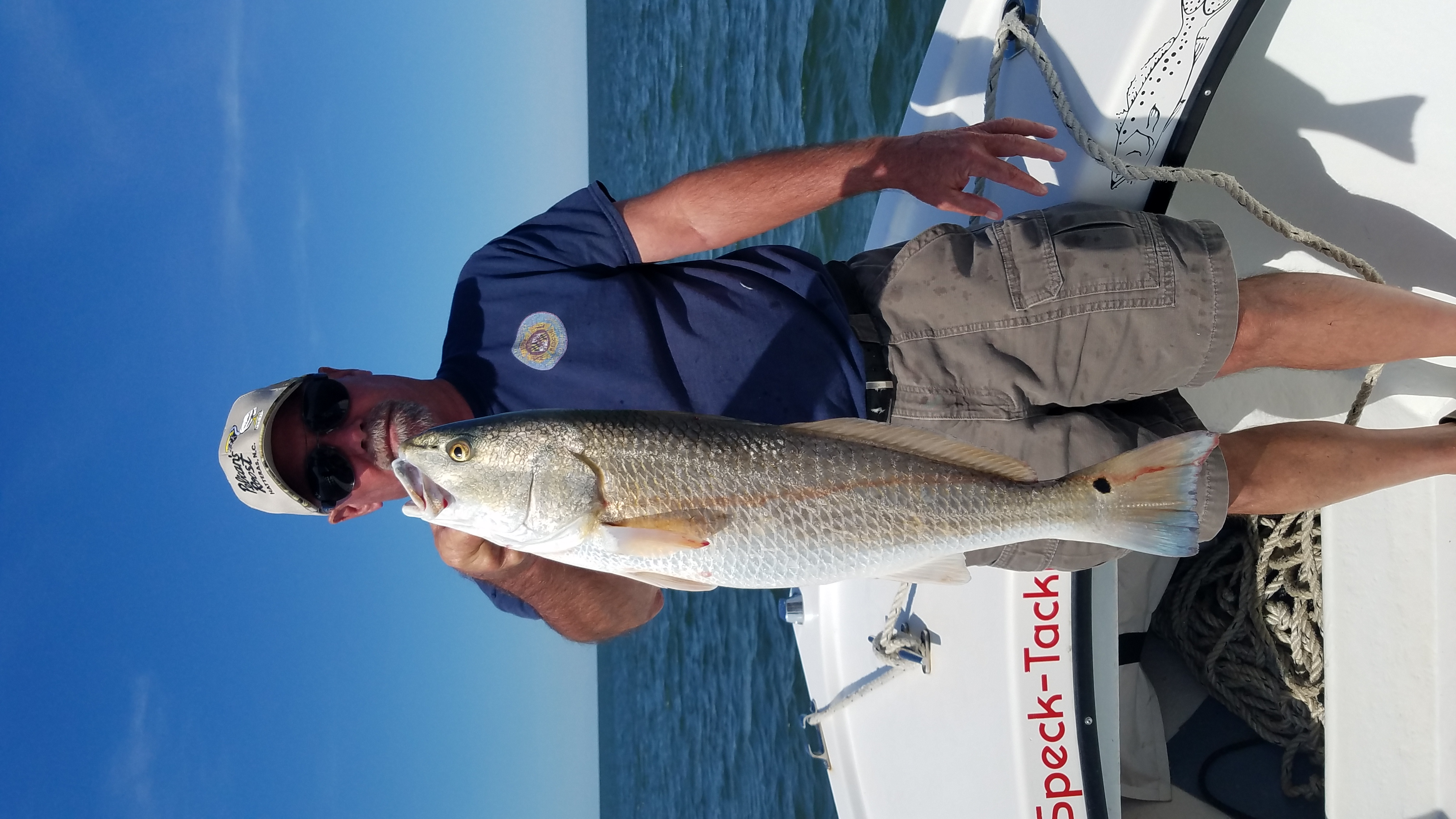 Speck-Tackler Teach's Lair Fishing Charter Inshore Hatteras Puppy Drum