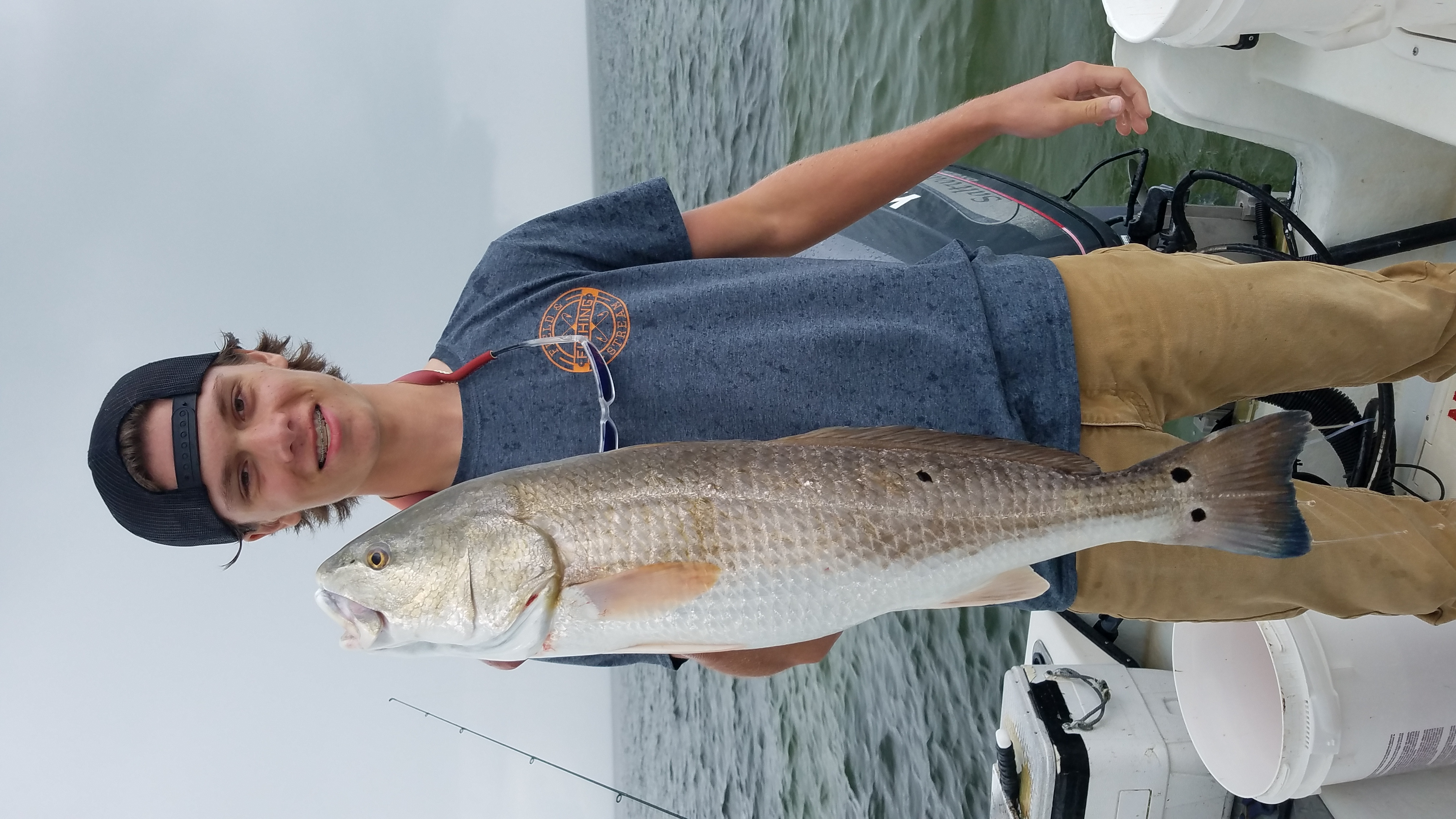 Speck-Tackler Fishing Teach's Lair Inshore Charters Drum