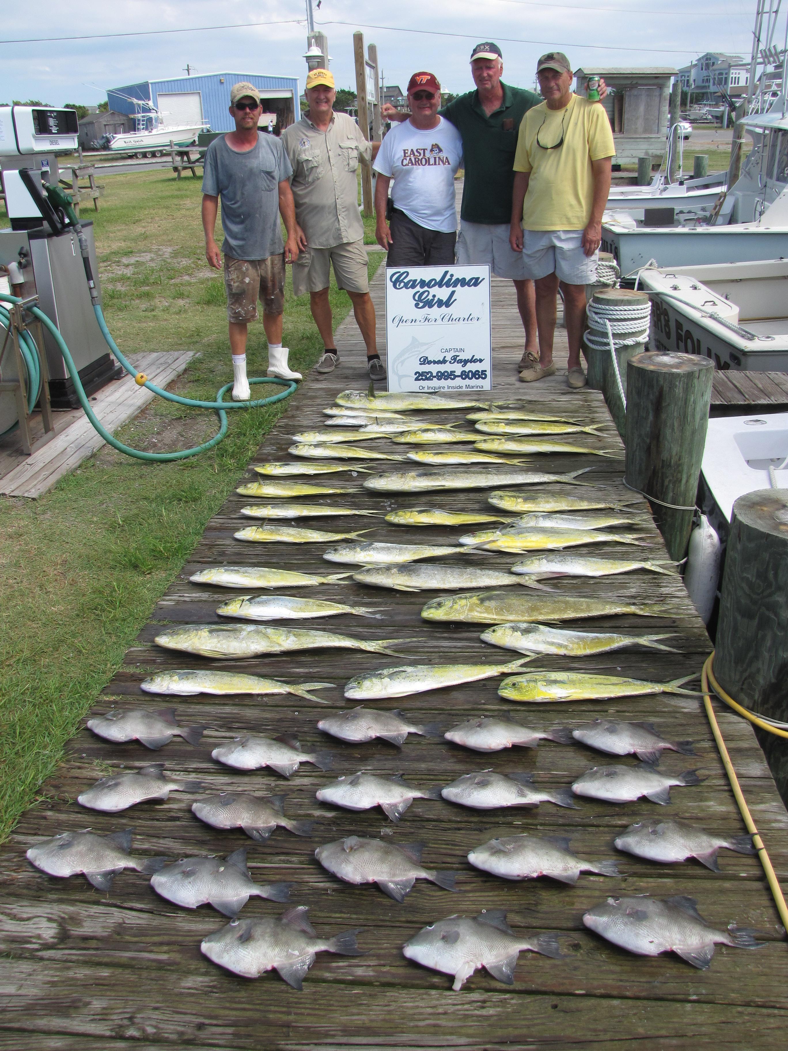 Gulf Stream Fishing Charter Boats Fun Hatteras OBX