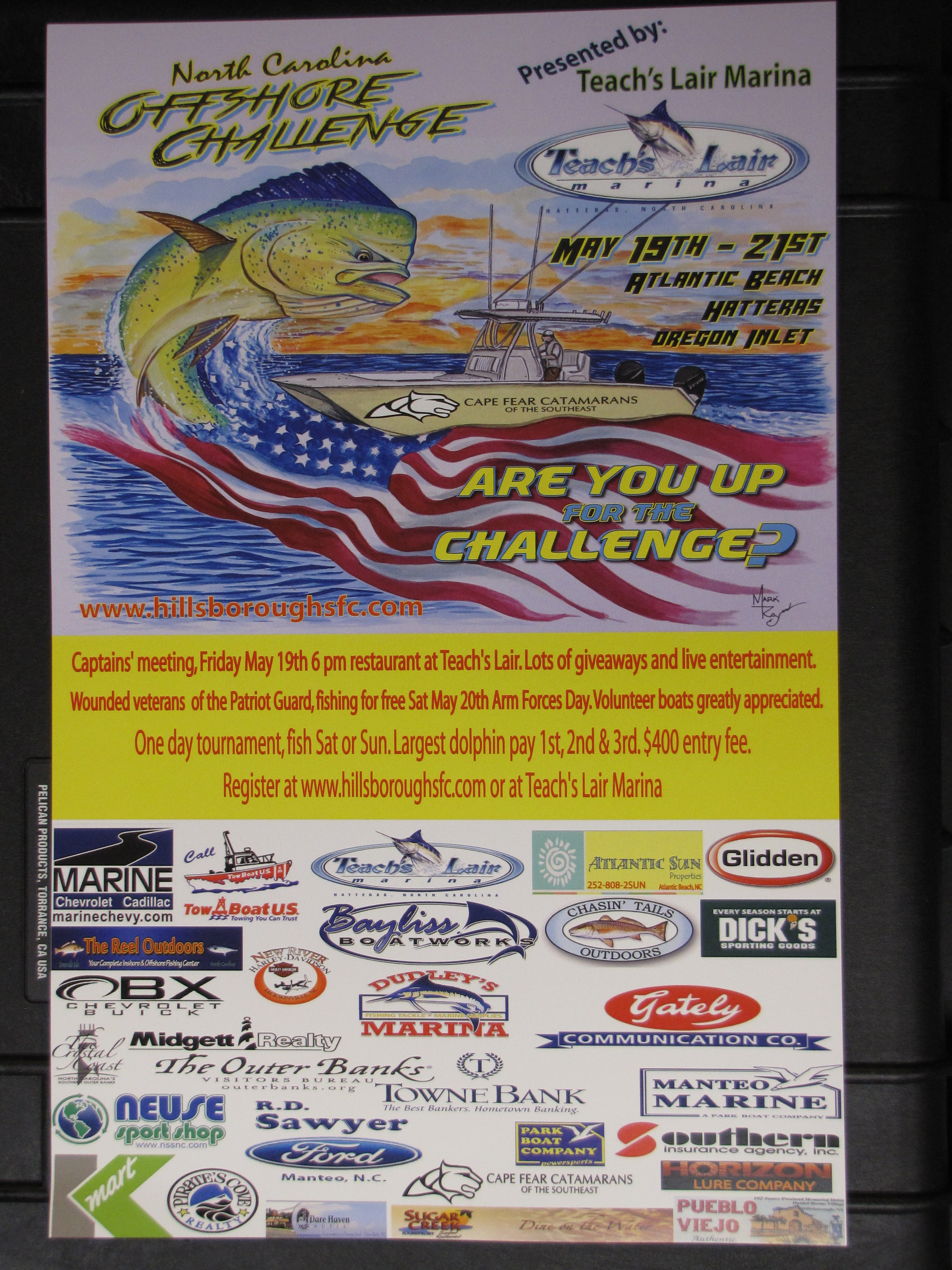 Hatteras, Fishing, Dolphin, Tournament, Veterans Support,